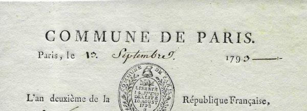 autographe commune paris