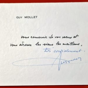 signature guy mollet