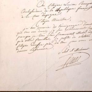 autographe maréchal brune