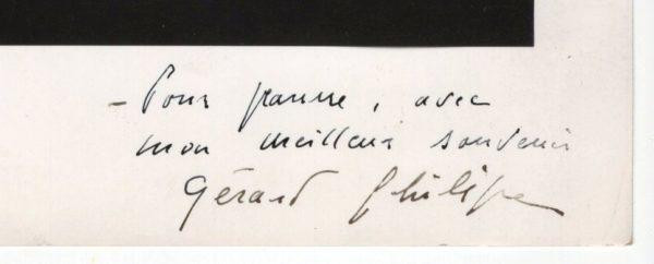 signature gerard philipe