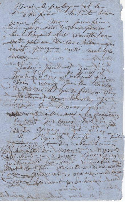 lettre autographe louise michel