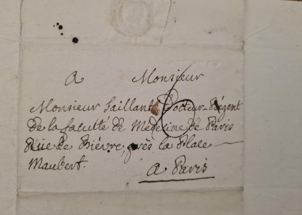autographe abbé de l epee