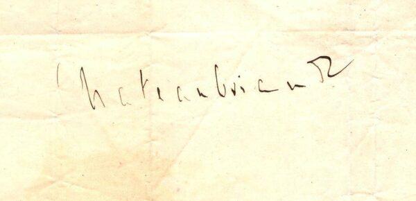 signature chateaubriand