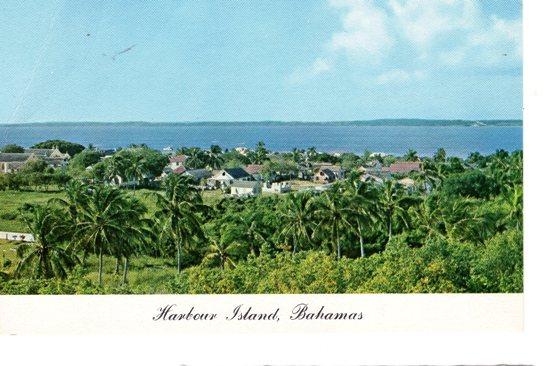 carte postale bahamas